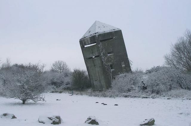Le bunker de la Tour Penchée